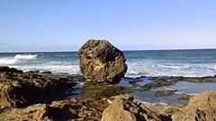 Pastillo Beach (Keisha Charlene) Tags: ocean road old cliff costa beach nature de puerto coast rocks waves stones north rail tunnel atlantic rico area antiguo norte piedras tnel acantilados quebradillas guajataca