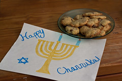 Channukah Cookies (Alex Bellink) Tags: cookies holidays menorah channukah notchristmas