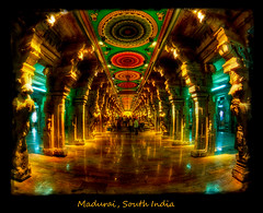 Maduri, India (Tim Moffatt) Tags: india colour history colors beautiful wow temple high ancient colorful extreme exotic elite marble hindu enhanced hdr highdynamicrange exceptionally hdrextremes elitephotography