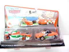 DISNEY CARS 2 KMART CREW CHIEF 2 PACK FRANCESCO'S CREW CHIEF (1) (jadafiend) Tags: scale kids toys model disney puzzle pixar remotecontrol collectors adults variation francesco launcher cars2 crewchief lightningmcqueen lewishamilton targetexclusive kmartexclusive collectandconnect raoulcaroule jeffgorvette johnlassetire carlomaserati piniontanaka carlavelosocrewchief mcqueenalive denisebeam meldorado pitcrewfillmore francescoscrewchief