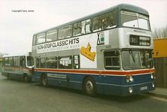 6685 WDA 685T (onthebeast) Tags: travel west bus green station solihull fleetline midlands wmt acocks