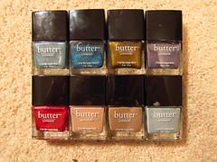 Butter London Collection (ebi debi) Tags: december nailpolish 2011 butterlondon