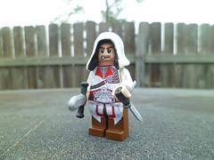 Ezio (Grant Me Your Bacon!) Tags: lego brotherhood assassin recruit ezio assassinscreed