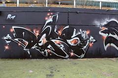 Ders (STEAM156) Tags: uk streetart london art graffiti travels photos artists walls rt represent ders stockwell steam156 wwwlondongraffititourscom