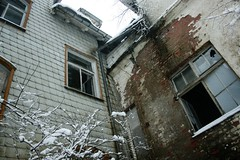 The Abandoned Hotel (_anke_) Tags: schnee winter snow bui