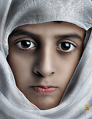 Silence (MALAK.FH }~) Tags: light baby face studio photo good silence         portite