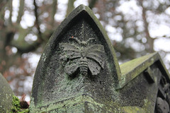 (michael_hamburg69) Tags: friedhof cemetery grave butterfly germany deutschland tomb hamburg moth papillon grab grabstein ohlsdorf schmetterling motte
