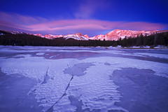Indian Peaks Twilight Magnificence (Erik Page Photography) Tags: sunrise twilight stars ice cold snow clouds beauty beautiful colorado landscape nature natural canon sigma really right stuff rrs feisol
