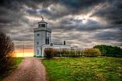 South Foreland Lighthouse (James Waghorn) Tags: light england sky lighthouse countryside kent nikon sigma ultrawide whitecliffs hdr dover lightroom sigma1020 southforeland d5000 hdraddicted blinkagain