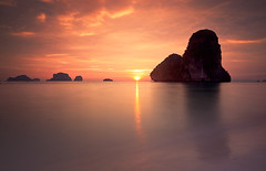 Phra Nang Bay Sunset