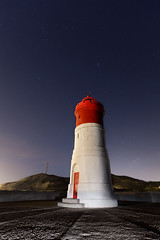 The lighthouse (Faro de Navidad) (raul_lg) Tags: sea sky lightpainting color luz canon faro puerto mar murcia cielo cartagena largaexposicion fuertedenavidad farodenavidad maglite3d raullg