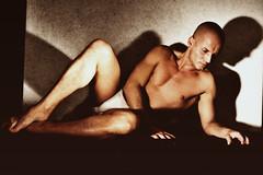 Alla luce e al corpo (<NERVO> Luca) Tags: man sexy male classic feet pose naked nude erotic underwear legs body muscle crotch ombre sensual eros uomo luci hombre homme bulge paquette