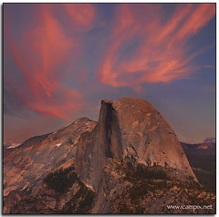 Half Dome, Yosemite (iCamPix.Net) Tags: california mountains love yosemitefalls landscape nevada tourists explore granite halfdome yosemitenationalpark sierranevada professionalphotographer yosemitevalley mostviewed mariposacounty anawesomeshot colorphotoaward canoneos1dsmarkiii mostwatched majorattraction icam1337