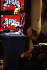 Triggerfinger (3FM) Tags: music radio cover muziek triggerfinger iwillfollow giel speelplaats monsieurpaul 3fm mariogoossens