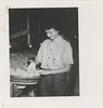 1945 Betty Healy AB 45 Womens Land Army packing peaches in Crozet