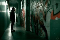 Hella Records. (Paulandthedarkroom) Tags: sf street music records green art canon studio 50mm graffiti oakland bay alley mark 14 sigma prince nike mc ii area 5d hip hop grime rapper hella