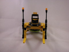 Sci-Fi Forklift (bluewithinblue) Tags: industrial lift lego space fork scifi fi sci forklift