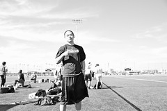 The homie Chen (Dcrake) Tags: chen texasam field asian bw blackwhite