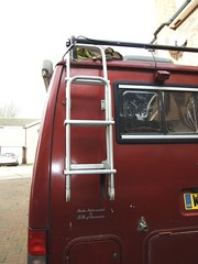 Rear folding ladder & roof rack (Mudman101) Tags: fiat motorhome ducato