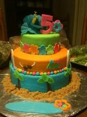Luau Cake (Cake!!! by AmandaB) Tags: beach cake surf lei luau