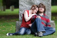 Taylor & Corey (Kim_Reimer) Tags: portrait canada cute engagement couple sitting bc britishcolumbia canadian northamerica romantic