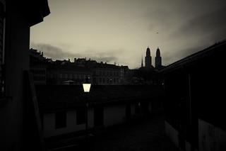 city nights . zurich