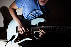 You Say (JavaJunky) Tags: me guitar 365 strat stratocaster electricguitar warmoth strobist