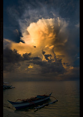 THE PHILIPPINES (BoazImages) Tags: light sunset sea storm nature beauty clouds landscape asia view philippines scenic southeast thephilippines centralvisayas boazimages