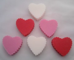 Valentines Hearts Soy Wax Melts