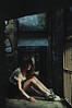 (yyellowbird) Tags: selfportrait abandoned girl zoo la losangeles cari shadowy