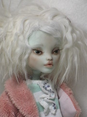 Added Lashes (ElfinHugs) Tags: monster by high shell custom mh repaint monsterhigh