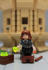 Polyjuice Potion (Carson Hart) Tags: brick carson bathroom big cool lego sink magic harry potter scene spell myrtle hart series mischievous hermione granger potion moaning myrtles polyjuice