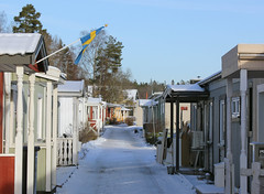 In A Row (Steffe) Tags: winter snow canon sweden tungelsta haninge rowhouses radhus frgldorna kulgrnd ginordicjan12