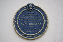 Photo of R. H. Sharp and New Theatre, Hull blue plaque