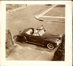 Sunday Drive (mizaliza) Tags: auto car photo vintagecar vintageautomobile photovintage photoantique etsyetsy vintageconvertible delphiniumsbluedelphiniumsbluefound