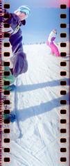 (xbacksteinx) Tags: snowboarding lomo downhill riding blackforest spinner feldberg dmparadies400