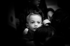 What a Strange, Beautiful World (michaelyan-) Tags: boy portrait people white motion black blur look photoshop child candid deep stop odc