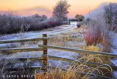 Morning Renewal (James Neeley) Tags: morning winter sunrise landscape idaho hdr 5xp jamesneeley flickr24 ruralidaho