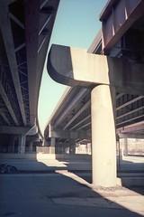 Dan Ryan (chris johnson.) Tags: chicago dan 35mm chinatown ryan under overpass beam freeway xa bridgeport olympusxa oly olymous