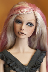 Closeup! Poppy OOAK (Hiritai) Tags: love look fashion toys poppy customized custom royalty parker integrity customised repaint repainted