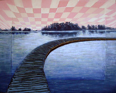 Elk Island National Park, Acrylic on Canvas 2011