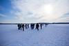 Schaatsers op het Paterswoldermeer (SecutorTheOne) Tags: winter en 2012 schaatsen koek januarie paterswoldermeer zopie