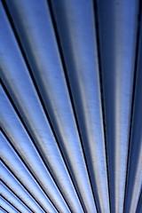 roller shutter (armin boenisch) Tags: blue abstract berlin canon 50mm dof perspective diagonal 18 1000d