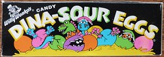 1993 Willy Wonka Dina-Sour Eggs box (daniel85r) Tags: candy wonka dinasour vintagepackaging