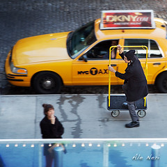 ecoTaxi - New York (ale neri) Tags: street nyc travel people ny newyork panning reportage aleneri alessandroneri
