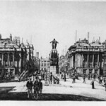 "<b>Waterloo Place</b><br/> Francis Dodd (1874-1949) ""Waterloo Place"" Etching, 1910 LFAC #1997:08:07<a href=""http://farm8.static.flickr.com/7160/6852456269_3a3a58bbb3_o.jpg"" title=""High res"">∝</a>"