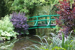 DSC06171 (microwave94) Tags: bridge vacation plants house holiday paris france flower green art nature water garden painting french lilies waterlilies monet painter vernon giverny 2013 givernyvernon
