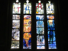 Ivor Gurney memorial window 2a (pefkosmad) Tags: music art church window modern war poetry cathedral contemporary chapel stainedglass gloucestershire worldwari gloucester poet firstworldwar gloucestercathedral composer vitraux ladychapel warpoet tomdenny ivorgurney thomasdenny severnandsomme northchantry