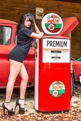 JunkyardShoot-20140316-355 (Frank Kloskowski) Tags: truck georgia shoot models gasstation junkyard gaspump lagrange