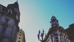 Buenos Aires. Argentina. February 2016. (mytwistedheartandthecosmos) Tags: city travel blue summer sky southamerica argentina skyline buenosaires